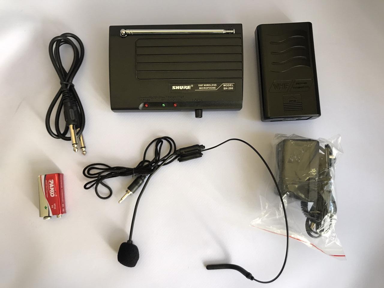 Наголовный петличный кардиоидный микрофон SHURE VNF SH-200
