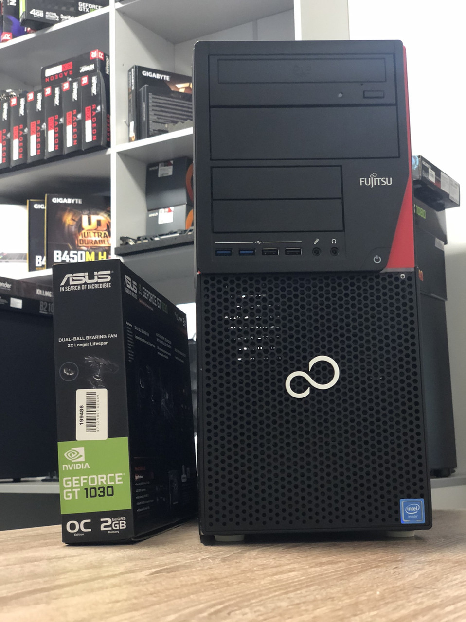 Компьютер PC Fujitsu P720 Intel Core i5-4570 RAM 8GB HDD 500GB PCI GT1030 2GB