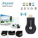 Беспроводной приемник для трансляции экрана AnyCast BLUETOOTH / WiFi (Screen Mirroring) M9 Plus (Google) (Anyc, фото 9