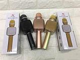 Беспроводной портативный Bluetooth микрофон для караоке Magic Karaoke YS-68 + колонка 2 в 1 с мембраной низких, фото 7
