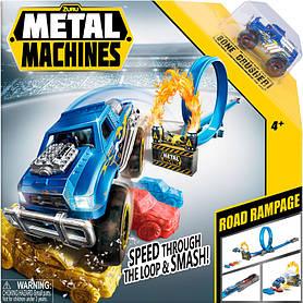 Ігровий набір автотрек Road Rampage Metal Machines (6718)