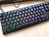 Профессиональная игровая клавиатура с подсветкой клавиш LANDSLIDES KR-6300, фото 2