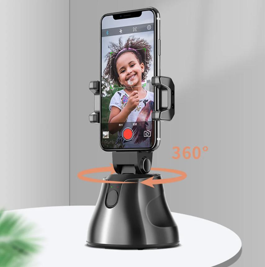 Смарт-штатив подставка для телефона Smart Tracking Apai Genie (360град) с датчиком движения