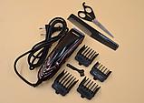 Профессиональная машинка для стрижки волос Geemy (Gm 813) от сети, фото 3