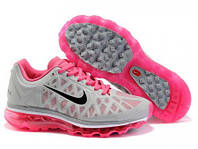 Кроссовки женские Nike Air Max (найк аир макс) серые