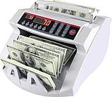 Счетчик банкнот Bill Counter 2108 c детектором UV Счетная машинка детектор валют, фото 5
