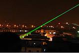 Лазерная указка зелёный лазер Laser 303 green с насадкой, фото 4