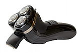 Триммер для бороды GEMEI GM 7300, аккумуляторная мужская бритва, фото 4
