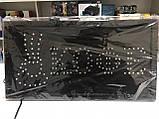 Вывеска светодиодная торговая LED табличка реклама КОФЕ на русском языке 48х25 см АКЦИЯ, фото 4