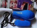 Фен для волос дорожный Nova 1000W со складной ручкой, фото 10