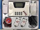 Охранная сигнализация GSM 360 RU 433 Alarm для вашего дома / офиса / прочее, фото 7