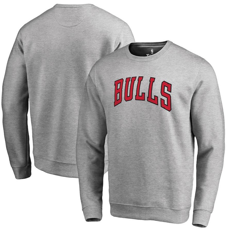 Світшот чорний чоловічий Chicago Bulls | Кофта