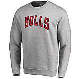 Світшот чорний чоловічий Chicago Bulls | Кофта, фото 2