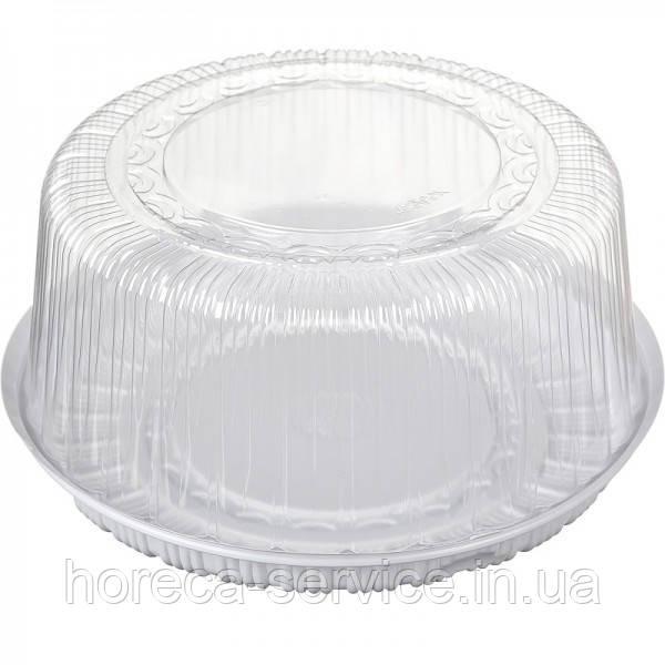 Коробка пластиковая для торта 30х10