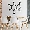 Декор для стен Панно из дерева Формула кофеина, фото 2