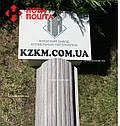 Штакетник металлический белое дерево 3Д Акация, евроштакетник, евроштахет, штакетник усиленный, забор, фото 4