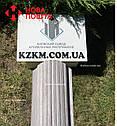 Штакетник металлический белое дерево 3Д Акация, евроштакетник, евроштахет, штакетник усиленный, забор, фото 5