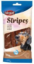 Ласощі Trixie Stripes з ягням для собак 100 гр (10шт)