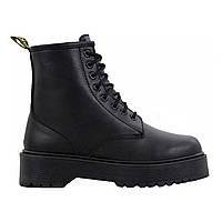 Женски зимние ботинки Мартинс ( Dr. Martens Jadon Total Black )