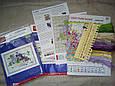 Париж.Цветочный рынок F664 Набор для вышивки крестом с печатью на ткани 14ст , фото 6