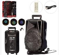 Портативная аккумуляторная Bluetooth колонка X16526 с микрофоном и пультом ДУ 12W