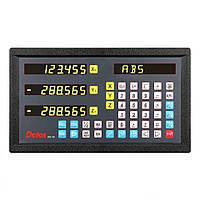 Устройство цифровой индикации Delos 3 оси 5 вольт LED дисплей RS232 DS20-3V-232