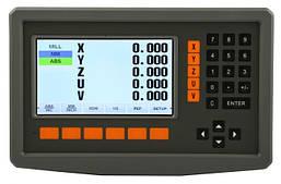 Устройство цифровой индикации Delos 5 осей 5 вольт LCD дисплей DS50P-5V