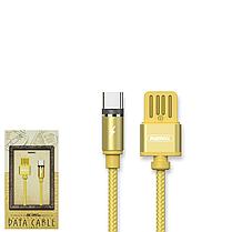 Магнитный кабель Remax Gravity RC-095a Gold