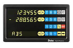 Устройство цифровой индикации Delos 2 оси 5 вольт LED дисплей DS60-2V