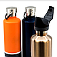 Пляшка для води Cheeki 1л з нержавіючої сталі Classic Single Wall 1 літр Lavender, металева 1000 мл, фото 9