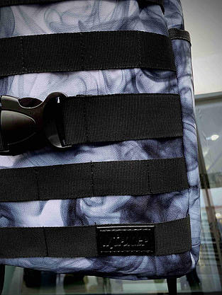 Рюкзак Fazan Городской для ноутбука Intruder + Бананка Fazan Intruder синий дым, фото 3