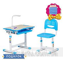 Детская парта со стульчиком FunDesk Piccolino Blue