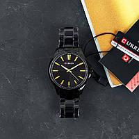 Мужские наручные часы Curren 8322 Black-Gold, фото 2