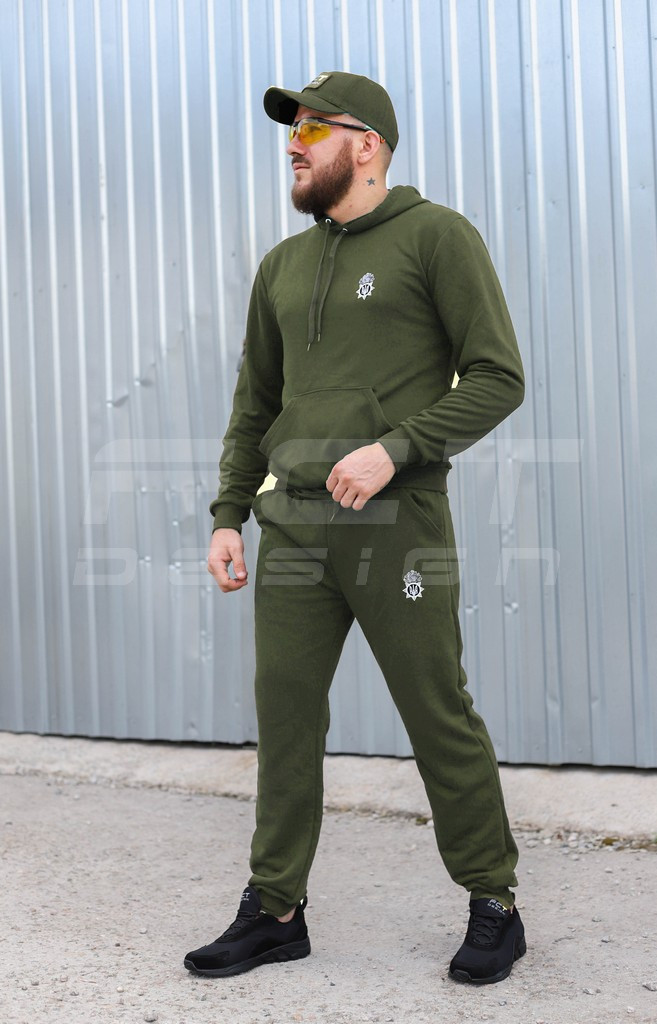 Спортивный костюм НГУ хаки