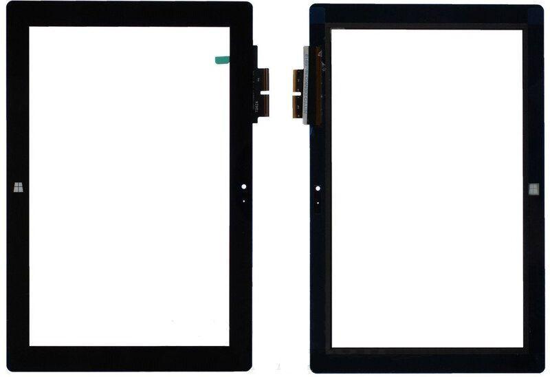 Сенсор (тачскрин) PiPo W1 (254x169, #TOKEN 10C04-FPC-1 A0, 10A01-FPC-1 A1) Black