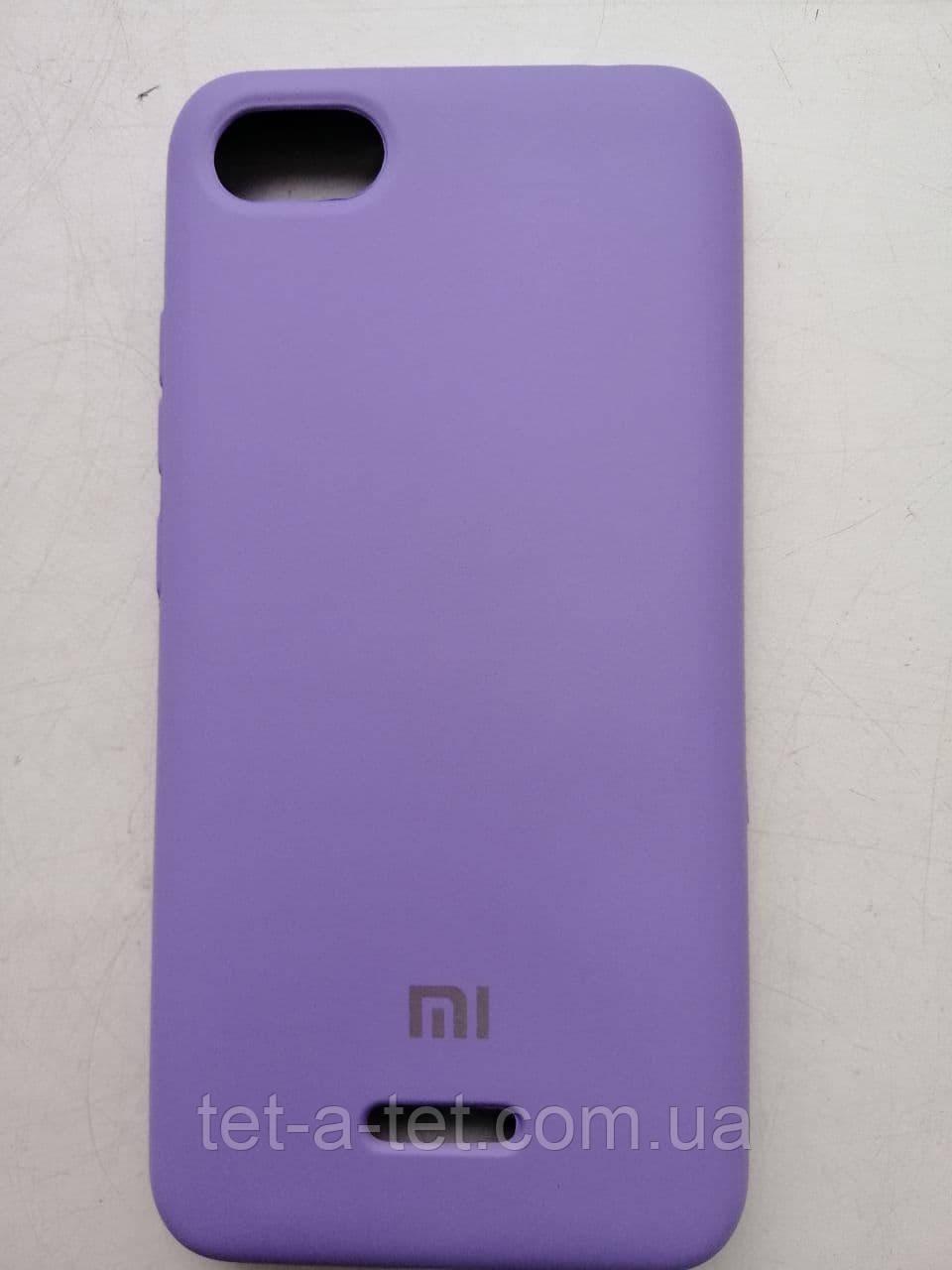 Silicone Color Cover Xiaomi Redmi 6A Lavanda