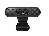 Веб-камера FULL HD веб камера для ПК | ноутбука 1080р веб камера с микрофоном, фото 6