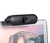 Веб-камера FULL HD веб камера для ПК | ноутбука 1080р веб камера с микрофоном, фото 8
