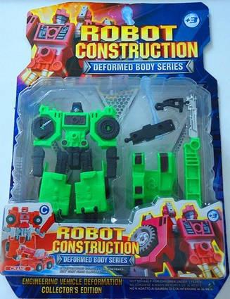 Робот-трансформер «Экскаватор» 4вида HY2284