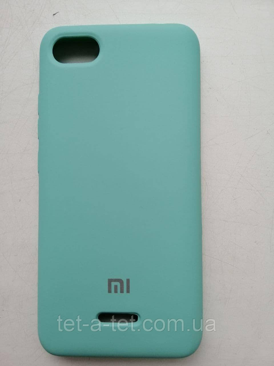 Silicone Color Cover Xiaomi Redmi 6A Mint