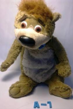 """М'яка іграшка """"Ведмідь Бобу"""" м/ф Ведмідь Йоги А-7_42см"""