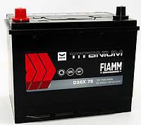 АКБ FIAMM JP 6СТ- 75Ач 640А L+ TITANIUM BLACK D26X75