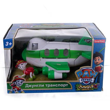 Літак рятувальників LQ 2034 Щенячий Патруль серія Джунглі