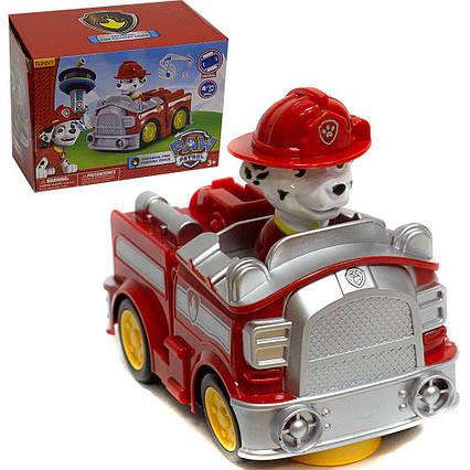 Пожежна машинка з музичними та світловими ефектами Щенячий патруль XZ-348