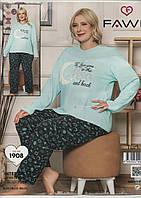 Пижама женская интерлок большой размер., фото 1