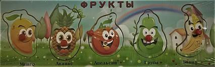 5515 Дерев'яні фрукти пазл