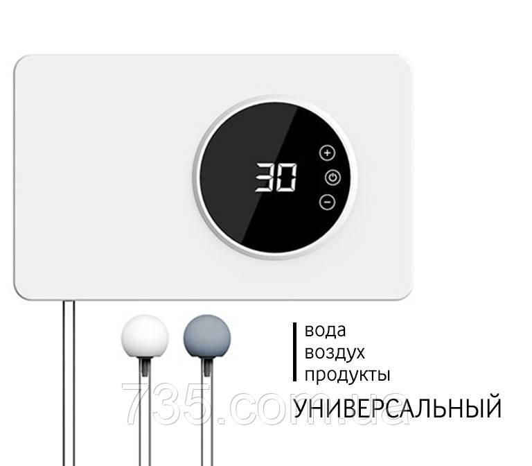 Бесшумный стильный озонатор-дезинфектор воздуха, воды, продуктов iTRIM-101 400мг/час