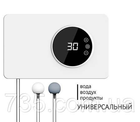 Бесшумный стильный озонатор-дезинфектор воздуха, воды, продуктов iTRIM-101 400мг/час, фото 2