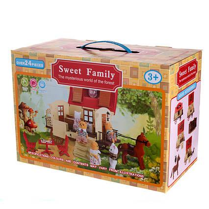 Тварини флоксовые Happy Family 1505 пересувний Будиночок
