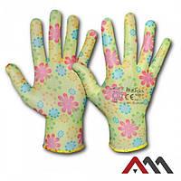 Садовые перчатки  RPUFLOW с полиуретановым покрытием.